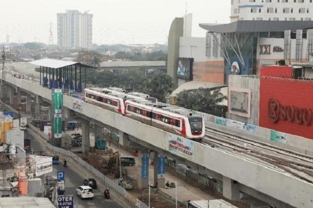 Februari 2019 Warga Jakarta Bisa Nikmati LRT Kelapa Gading-Velodrome