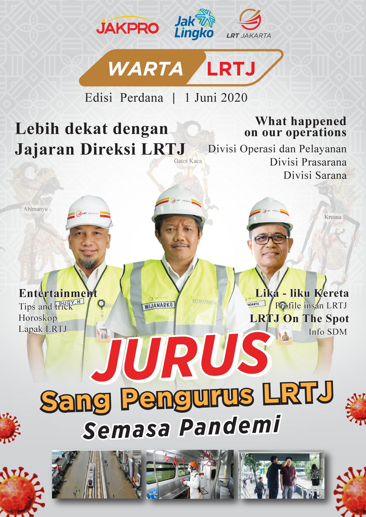 The New Online Media of LRT Jakarta, Warta LRTJ