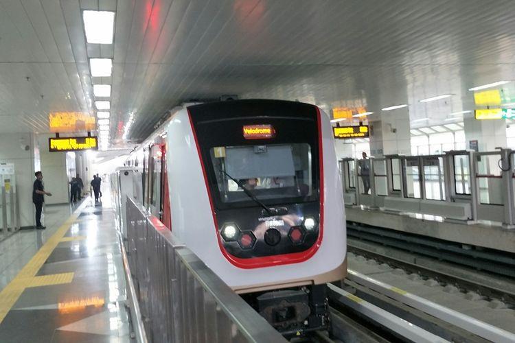 Bayar LRT Jakarta Pakai LinkAja