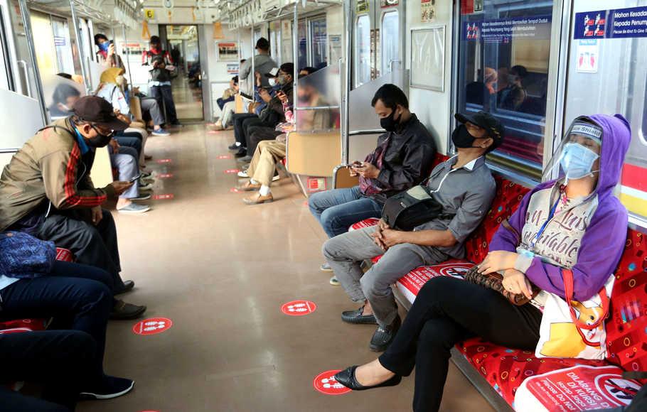 Pemprov DKI: Kepatuhan Warga Jalankan Protokol Kesehatan di Angkutan Publik Jauh Lebih Baik